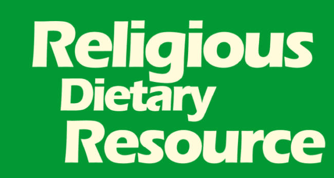 Religious Dietary Resource